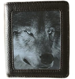 caszmy collection Caszmy Collection 3D  lenticular wallet Dark Wolf