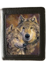 Caszmy 3D wallets and purses - Caszmy Collection 3D lenticular wallet The Bond, Wolves