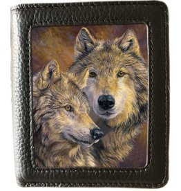 Caszmy Caszmy Collection 3D lenticular wallet The Bond, Wolves