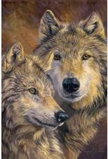 Caszmy Merchandise wallets - Caszmy Collection 3D lenticular wallet The Bond, Wolves