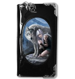Anne Stokes Anne Stokes 3D portemonnee Protector (Wolf en Meid)