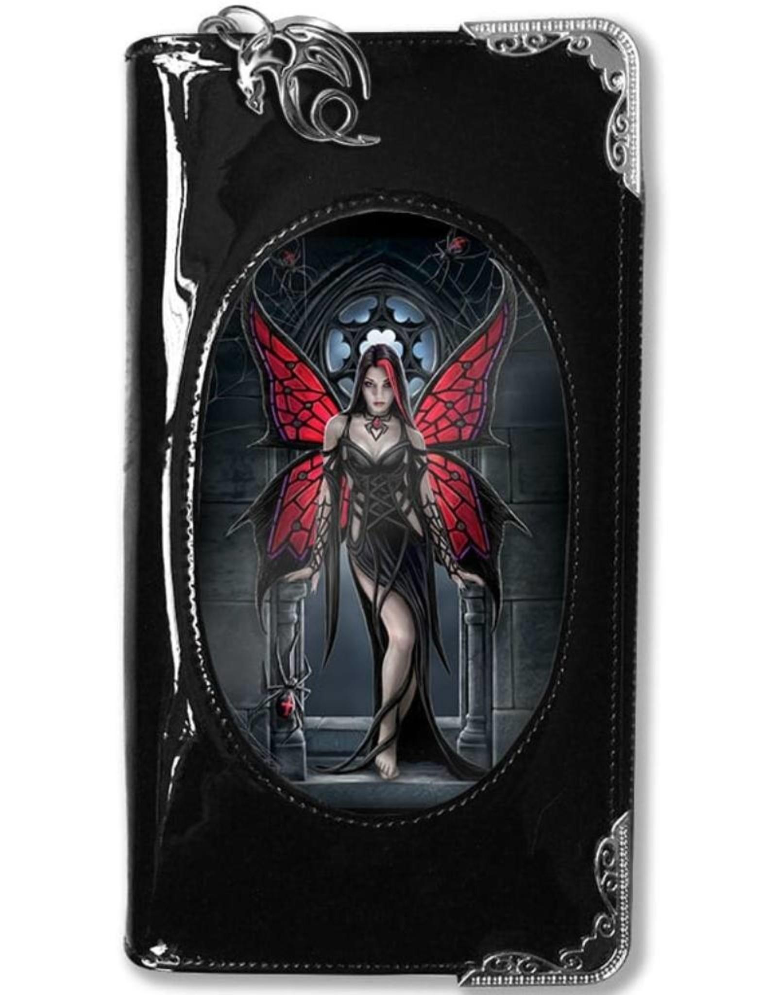 Anne Stokes Gothic wallets and purses - Anne Stokes 3D purse Aracnafaria (Gothic Fairy)