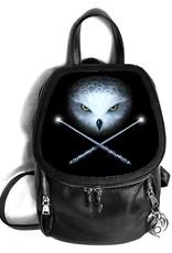 Anne Stokes Fantasy tassen en portemonnees - Anne Stokes 3D rugtas Owl and Crossed Wands