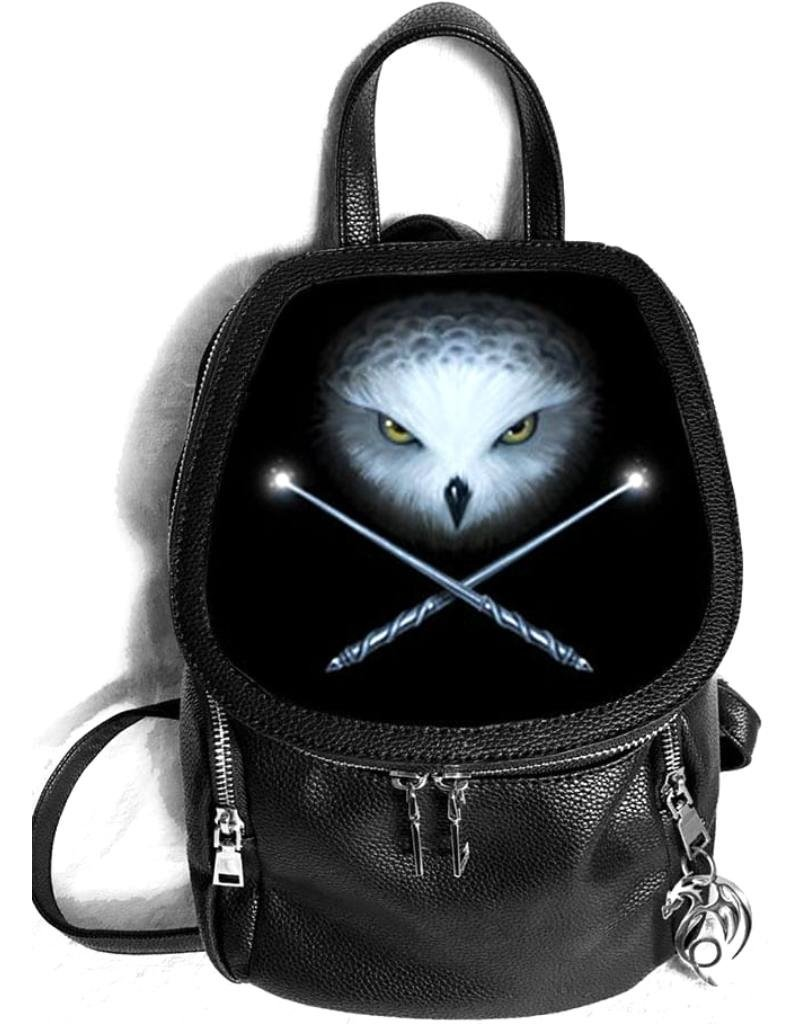 Anne Stokes Fantasy bags and wallets - Anne Stokes 3D lenticular backpack Own and Crossed Wands