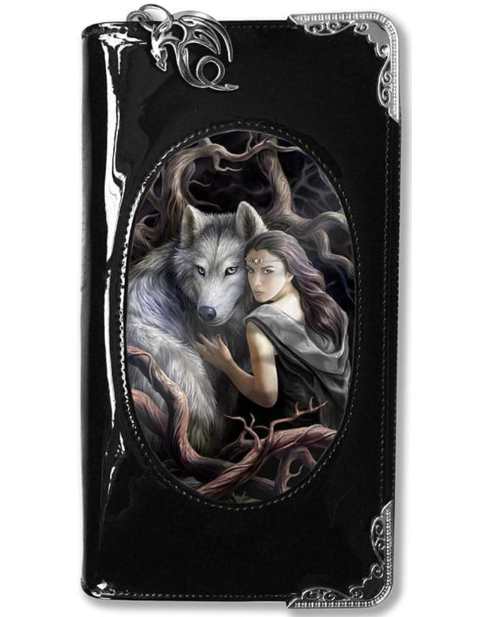 Anne Stokes Fantasy bags and wallets - Anne Stokes 3D lenticular purse Soul Bond