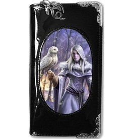 Anne Stokes Anne Stokes 3D lenticular purse Winter Owl