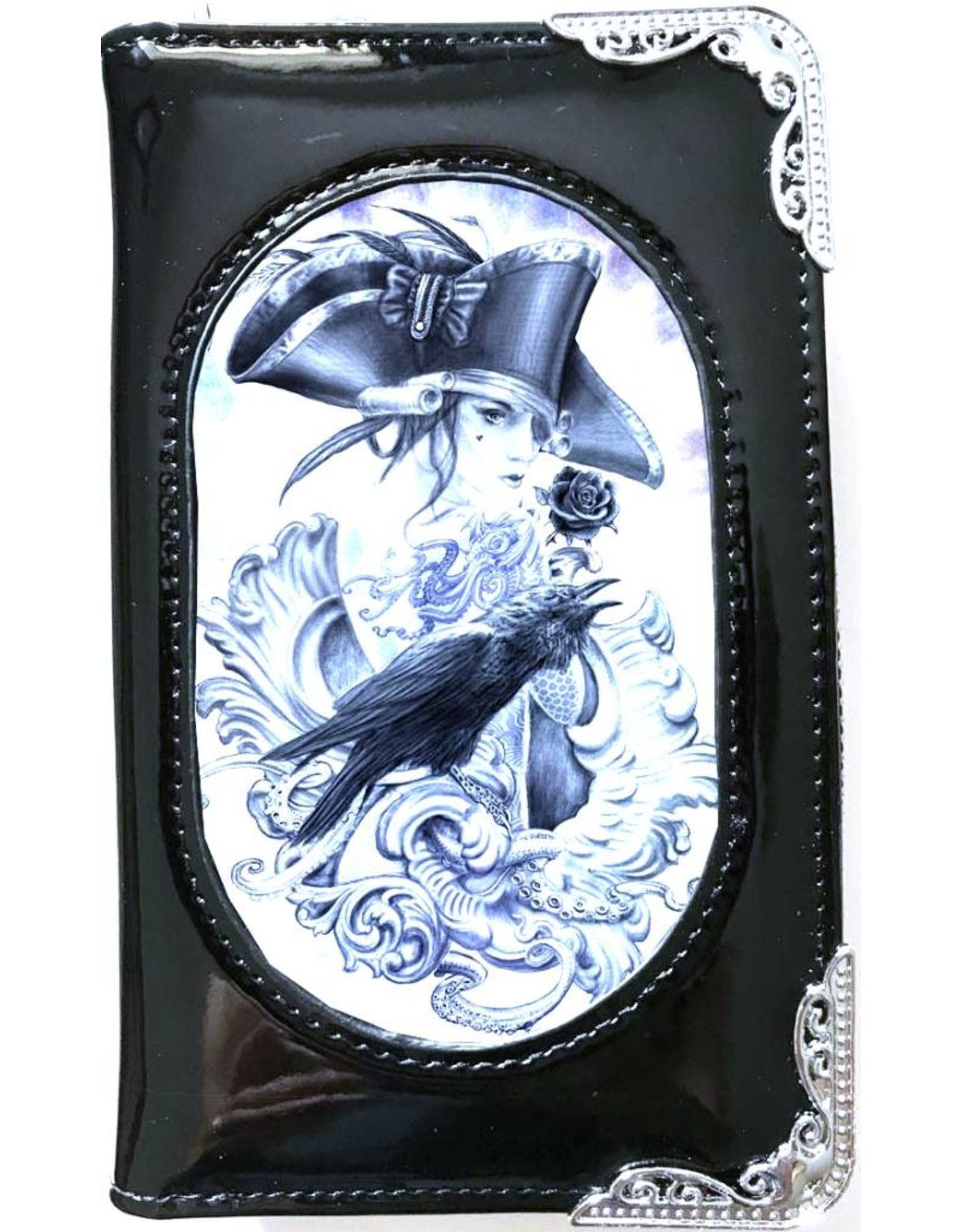 Anne Stokes Gothic wallets and purses - Alchemy 3D lenticular purse  Stormcrow