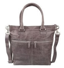 Cowboysbag Leather Bag Cowboysbag Brackley Elephant Grey