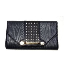 Best Access Clutch Evening Bag Black Studs