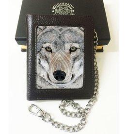 John Woodward John J. Woodward 3D lenticular wallet Wolf