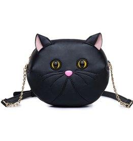 Magic Bags Schoudertas Kattenkopje