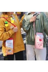 Magic Bags Fantasy tassen en portemonnees - Fantasy tas Pak Melk Aardbei