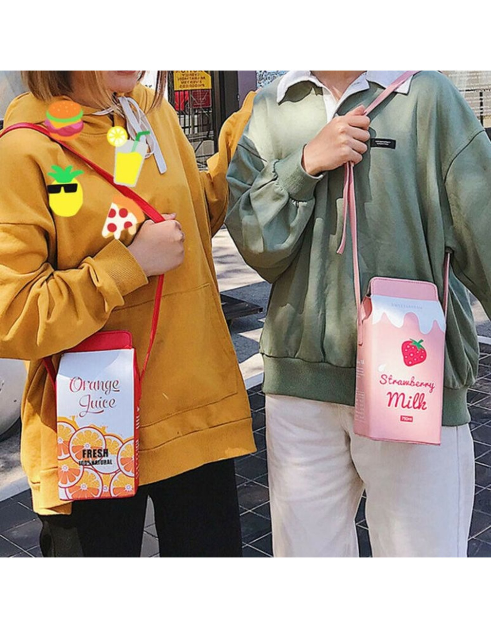 Magic Bags Fantasy tassen en portemonnees - Fantasy tas Pak Chocomelk