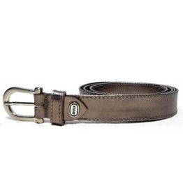 Hepco Leather Belt Platinum Hepco