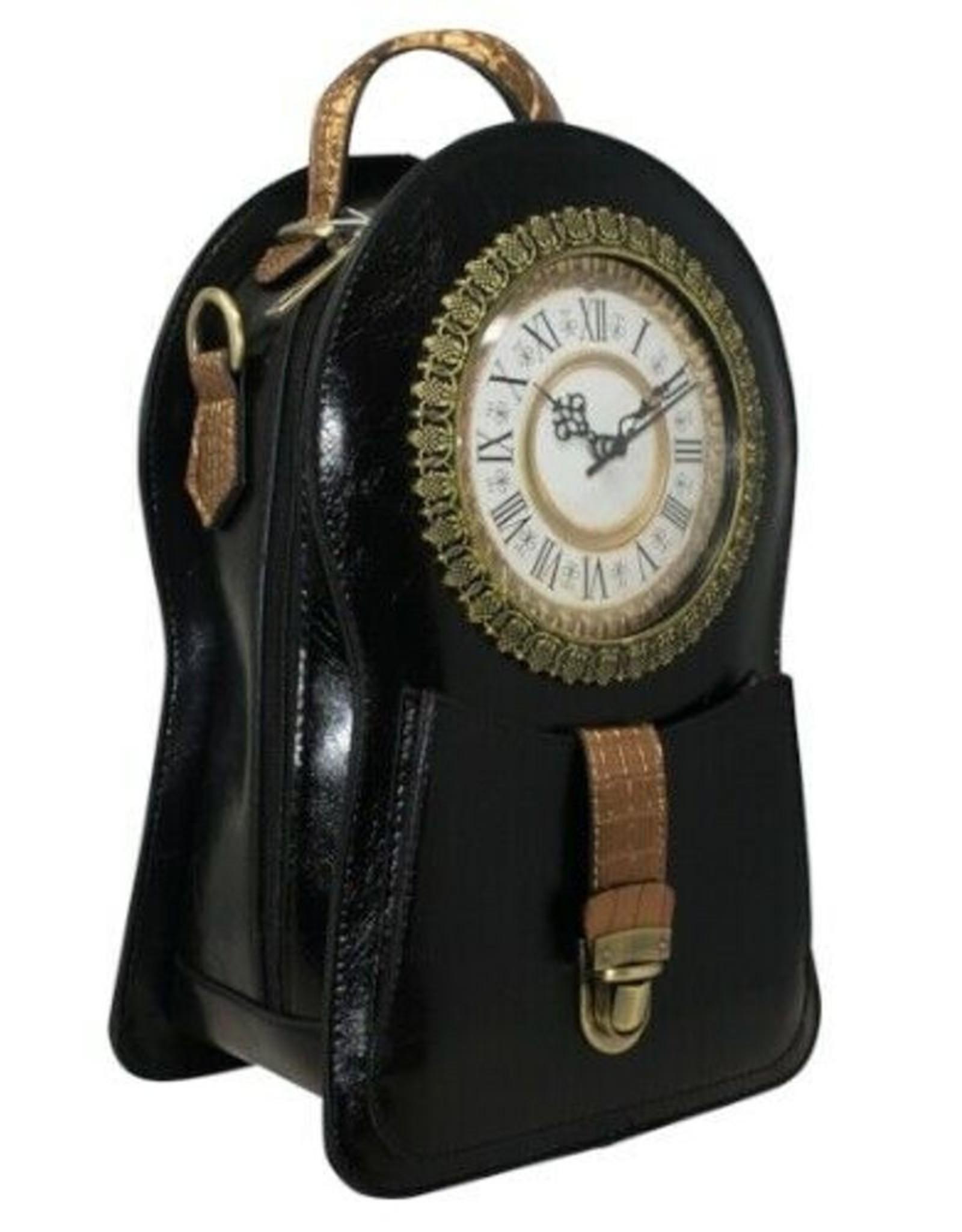 Magic Bags Gothic tassen Steampunk tassen - Steampunk Rugtas met Echt Werkende Klok