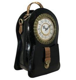 Magic Bags Steampunk Rugtas met Echt Werkende Klok