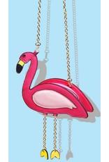 Magic Bags Fantasy tassen en portemonnees - Fantasy tas Roze Flamingo