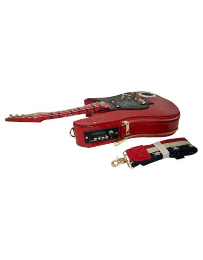 Magic Bags Fantasy tassen en portemonnees - Fantasy tas Gitaar met Werkende Radio