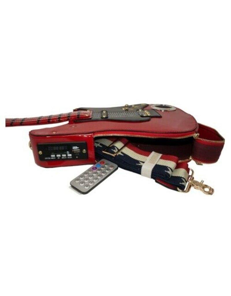 Magic Bags Fantasy bags and wallets - Fantasy bag Guitar with Working Radio
