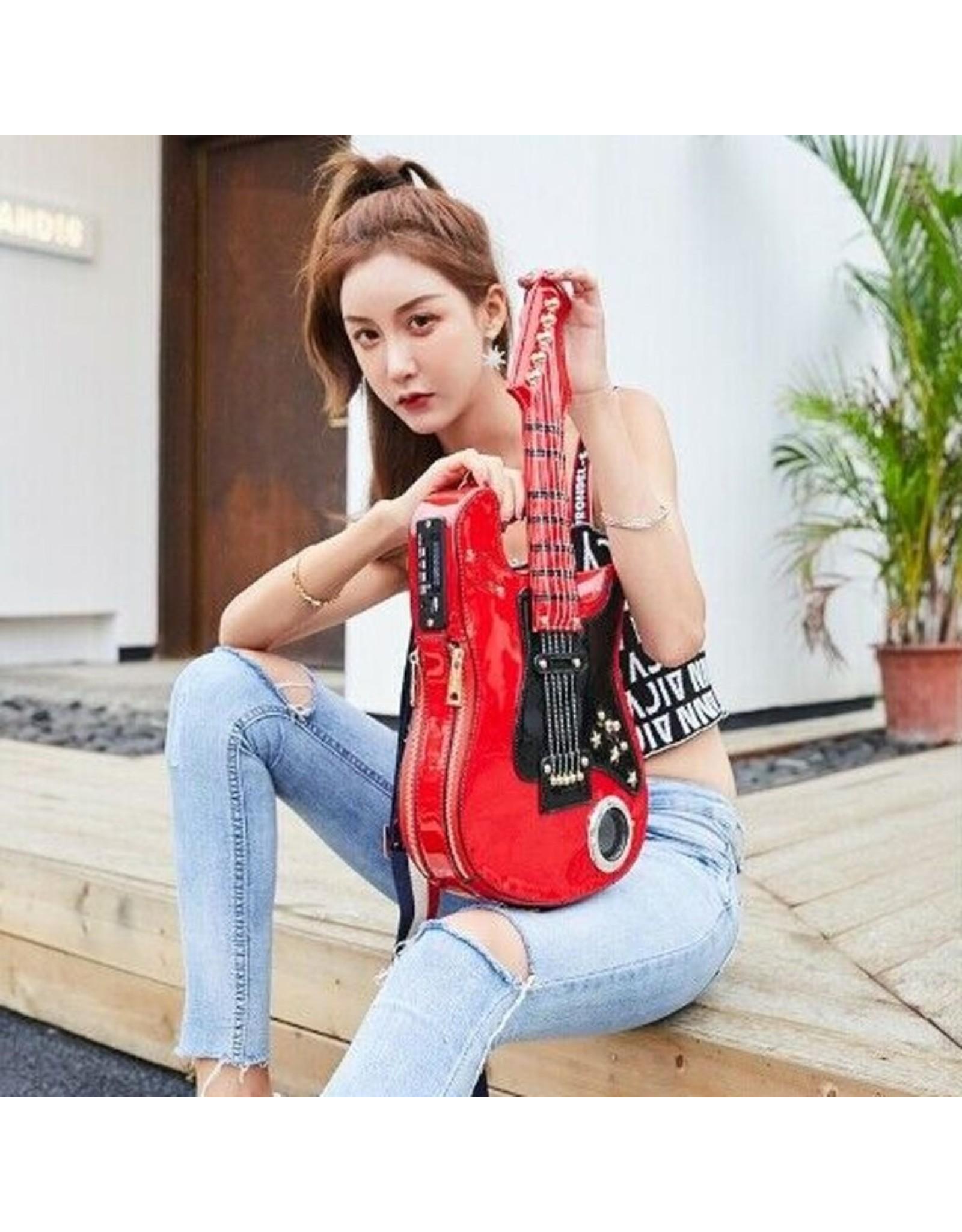 Magic Bags Fantasy bags and wallets - Fantasy bag Guitaar with Working Radio