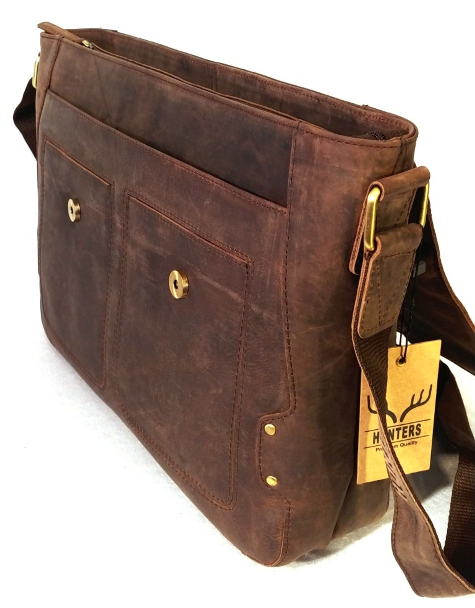 Hunters Leather bags and Leather laptop bags - Hunters Leather Laptop bag (Buffalo leather)
