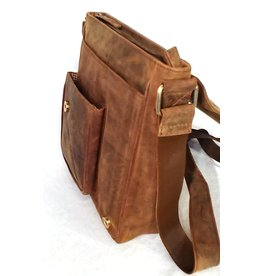 Hunters Hunters Leather Hunter's bag with holster cover