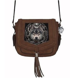 Anne Stokes Anne Stokes 3D shoulder bag Night Forest