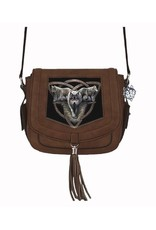 Anne Stokes Fantasy bags and wallets - Anne Stokes 3D shoulder bag Wolf Trio
