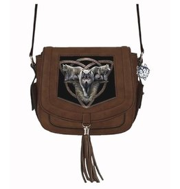 Anne Stokes Anne Stokes 3D shoulder bag Wolf Trio