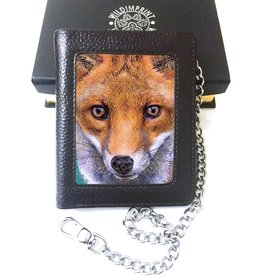 Wild Imrint by J.J. Woodward John J. Woodward 3D wallet Fox