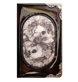 Alchemy Alchemy 3D lenticular purse Skulls and Roses Diosurri