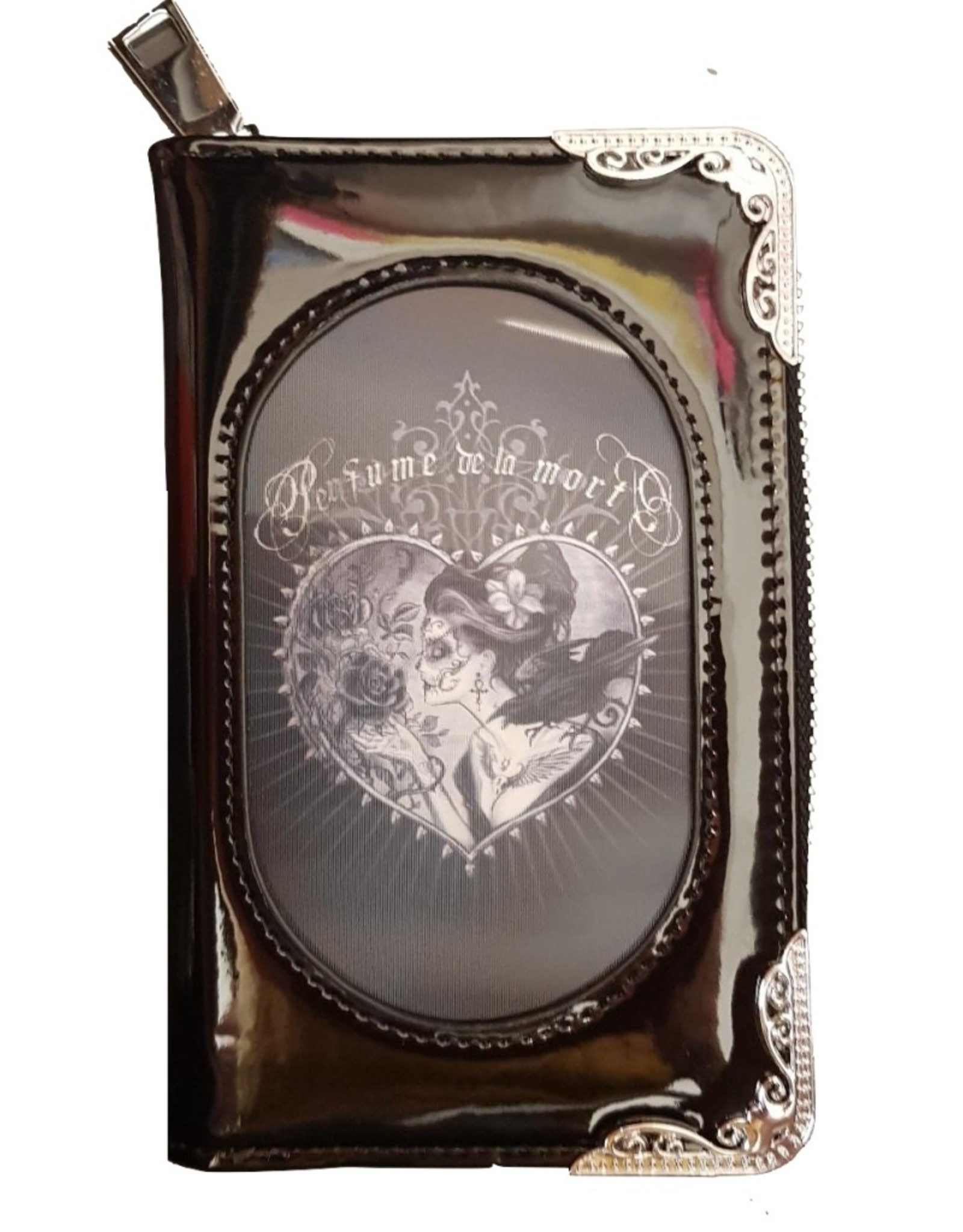 Alchemy Gothic and Steampunk wallets - Alchemy 3D lenticular purse Perfume De La Mort