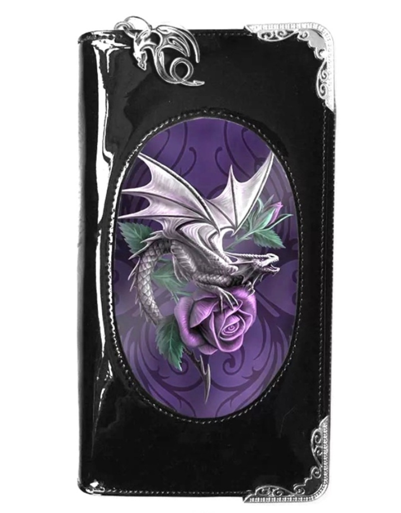 Anne Stokes Fantasy bags and wallets - Anne Stokes 3D lenticular purse Dragon Beauty