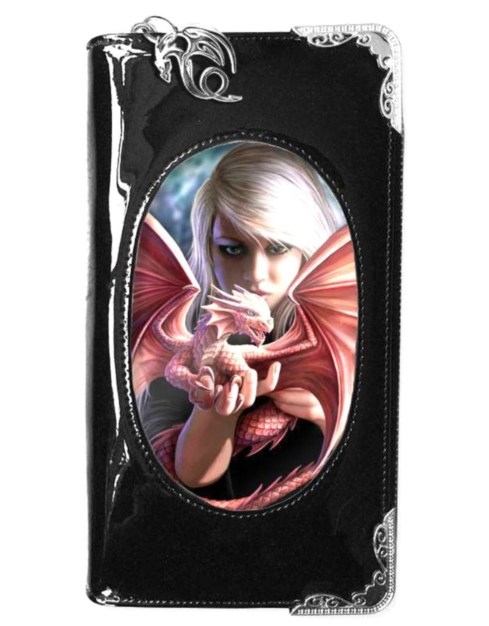 Anne Stokes Fantasy bags and wallets - Anne Stokes 3D lenticular purse Dragonkin