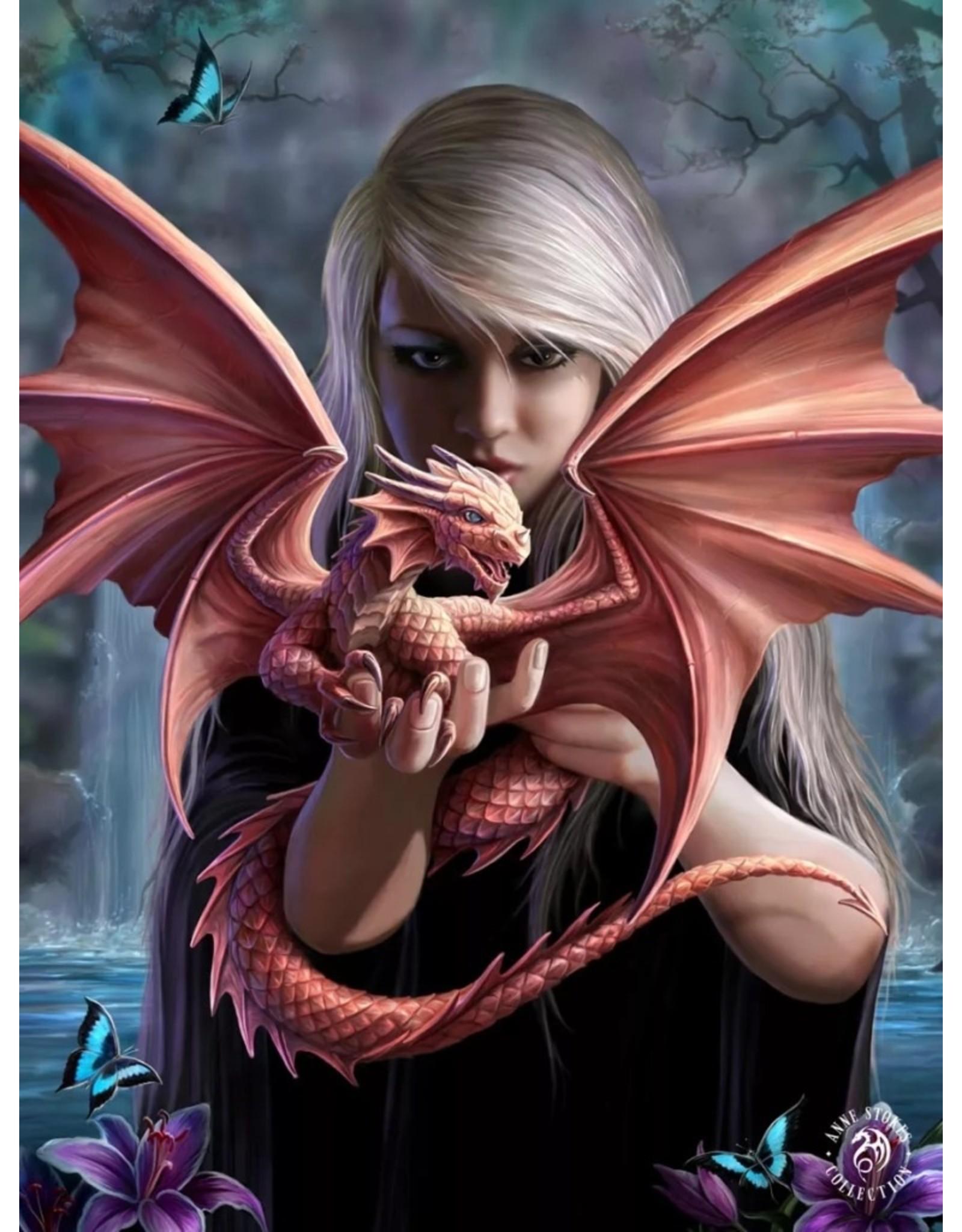 Anne Stokes Fantasy tassen en portemonnees - Anne Stokes 3D portemonnee Dragonkin