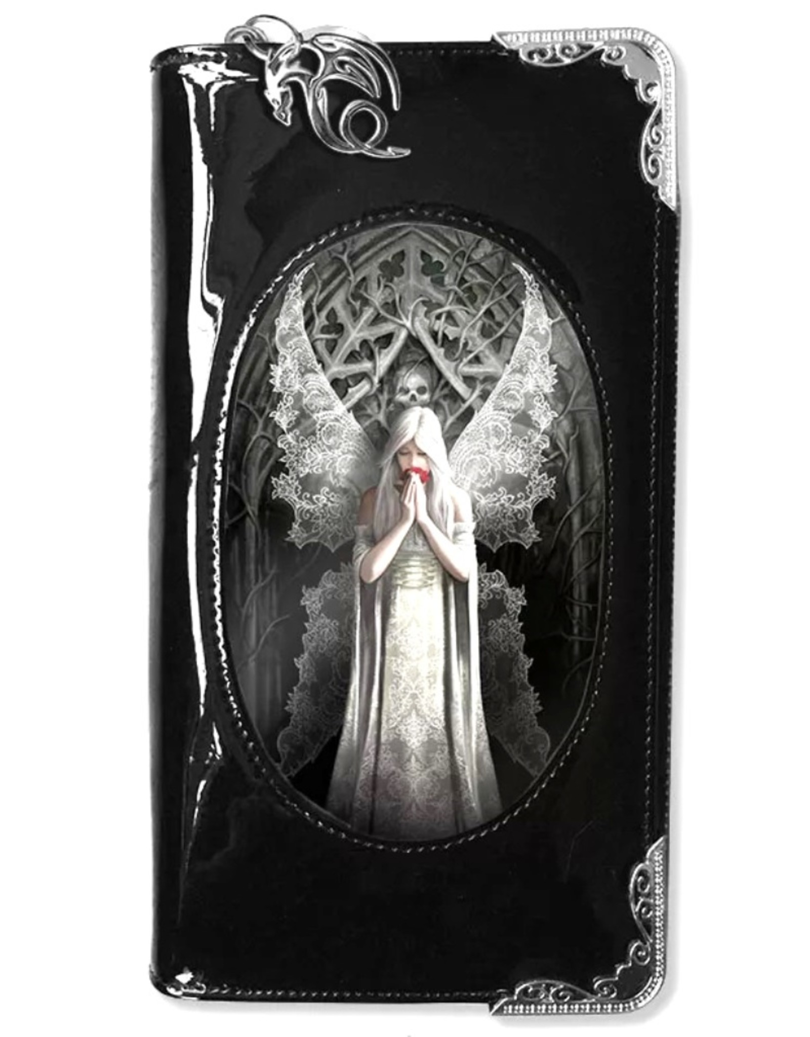 Anne Stokes Gothic en Steampunk portemonnees - Anne Stokes 3D portemonnee Only Love Remains