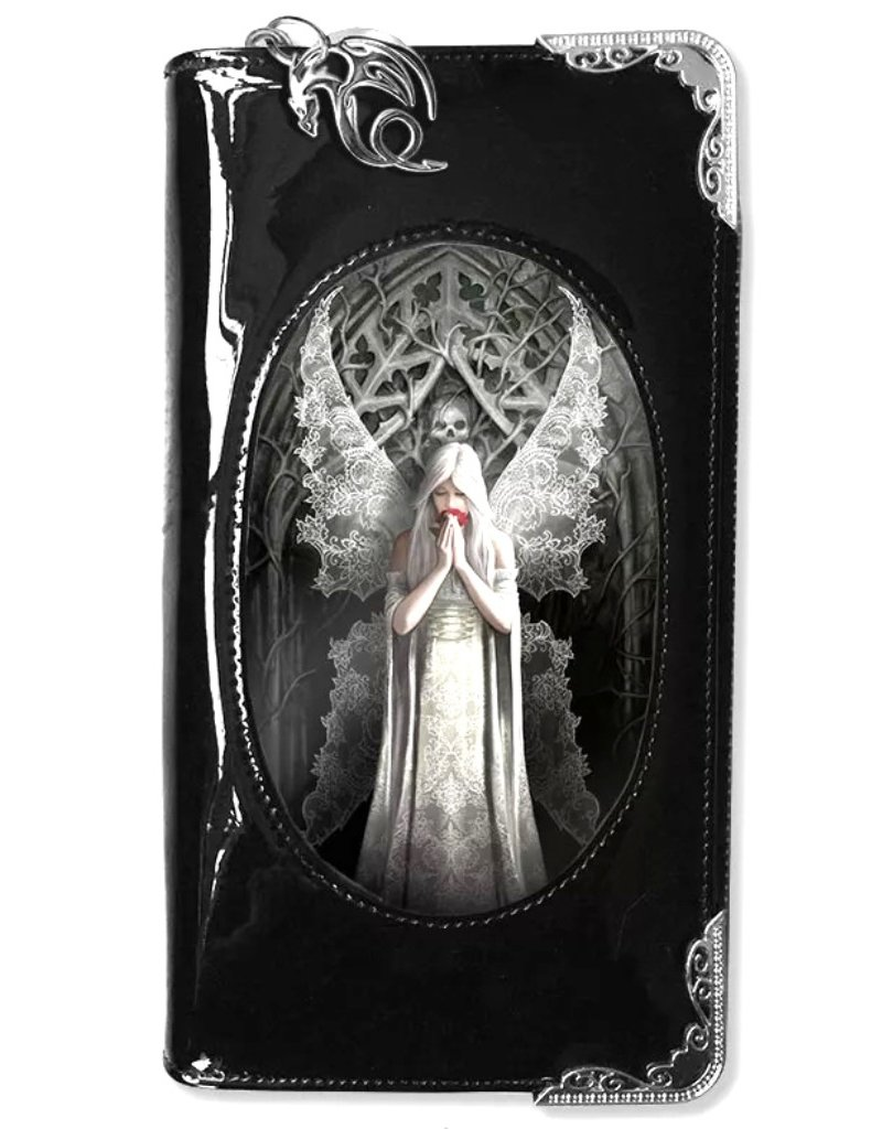 Anne Stokes Gothic and Steampunk wallets - Anne Stokes 3D lenticular purse Only Love Remains