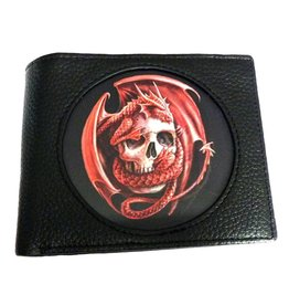 Anne Stokes Anne Stokes 3D lenticular wallet Dragon Skull (Age of Dragons)