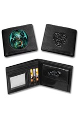 Anne Stokes Gothic wallets and purses - Anne Stokes 3D lenticular wallet Dragon Skull (Age of Dragons)