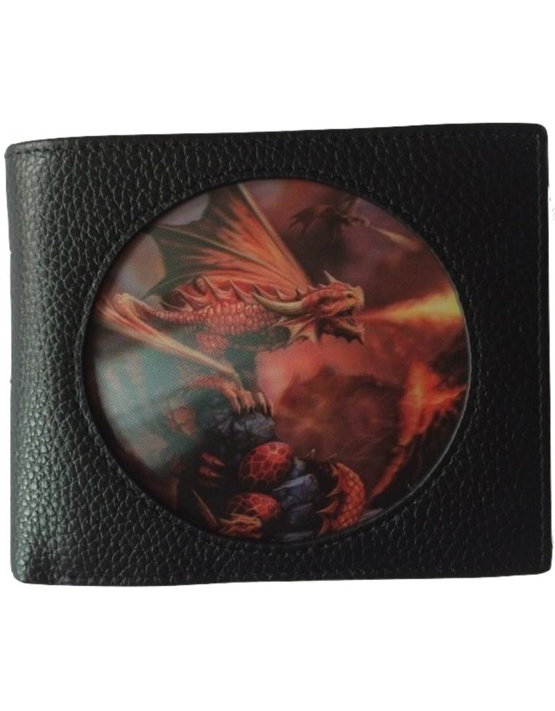 Anne Stokes Fantasy tassen en portemonnees - Anne Stokes 3D portemonnee Fire Dragon  (Age of Dragons)