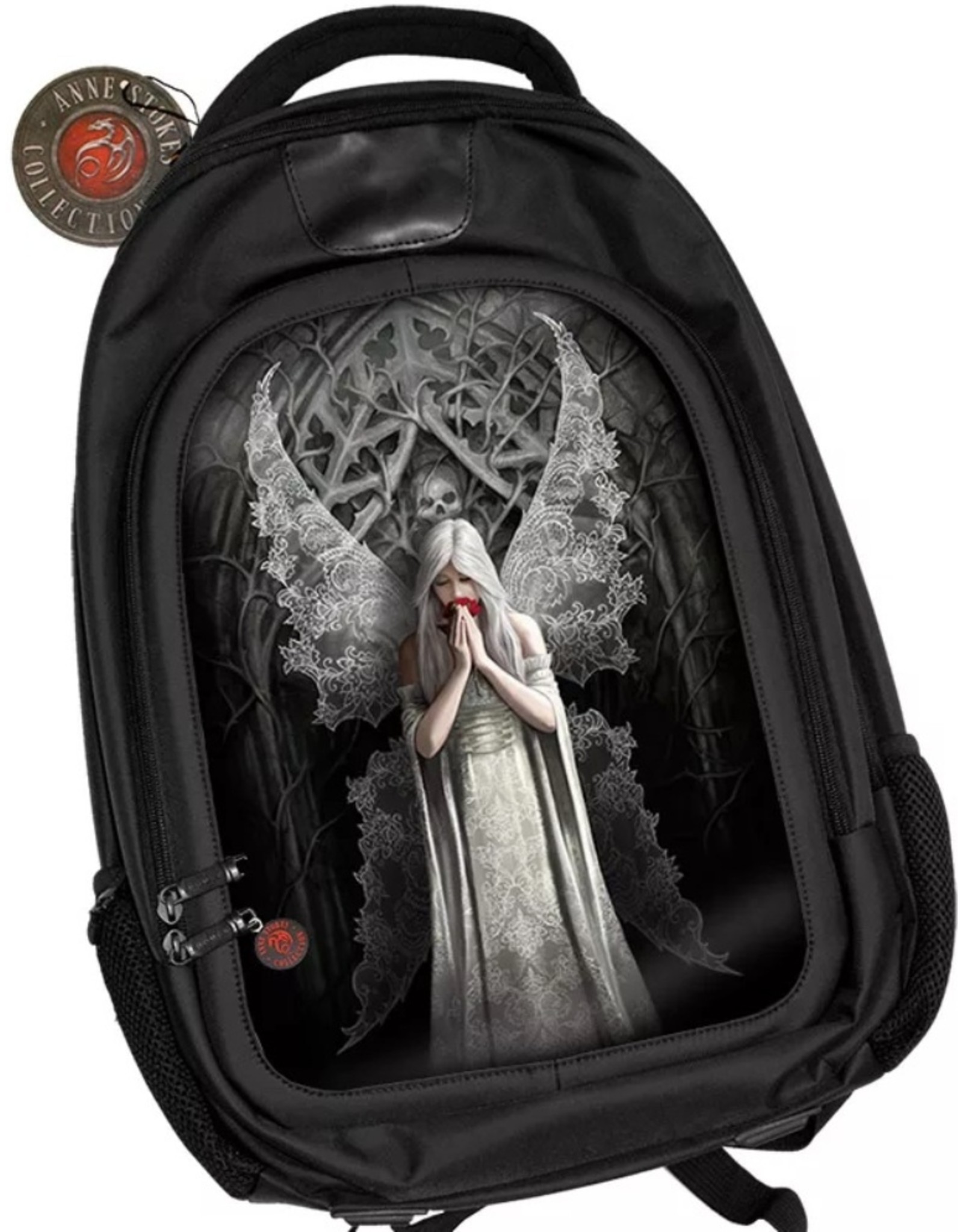 Anne Stokes Gothic bags Steampunk bags - Anne Stokes 3D lenticular backpack Only Love Remains
