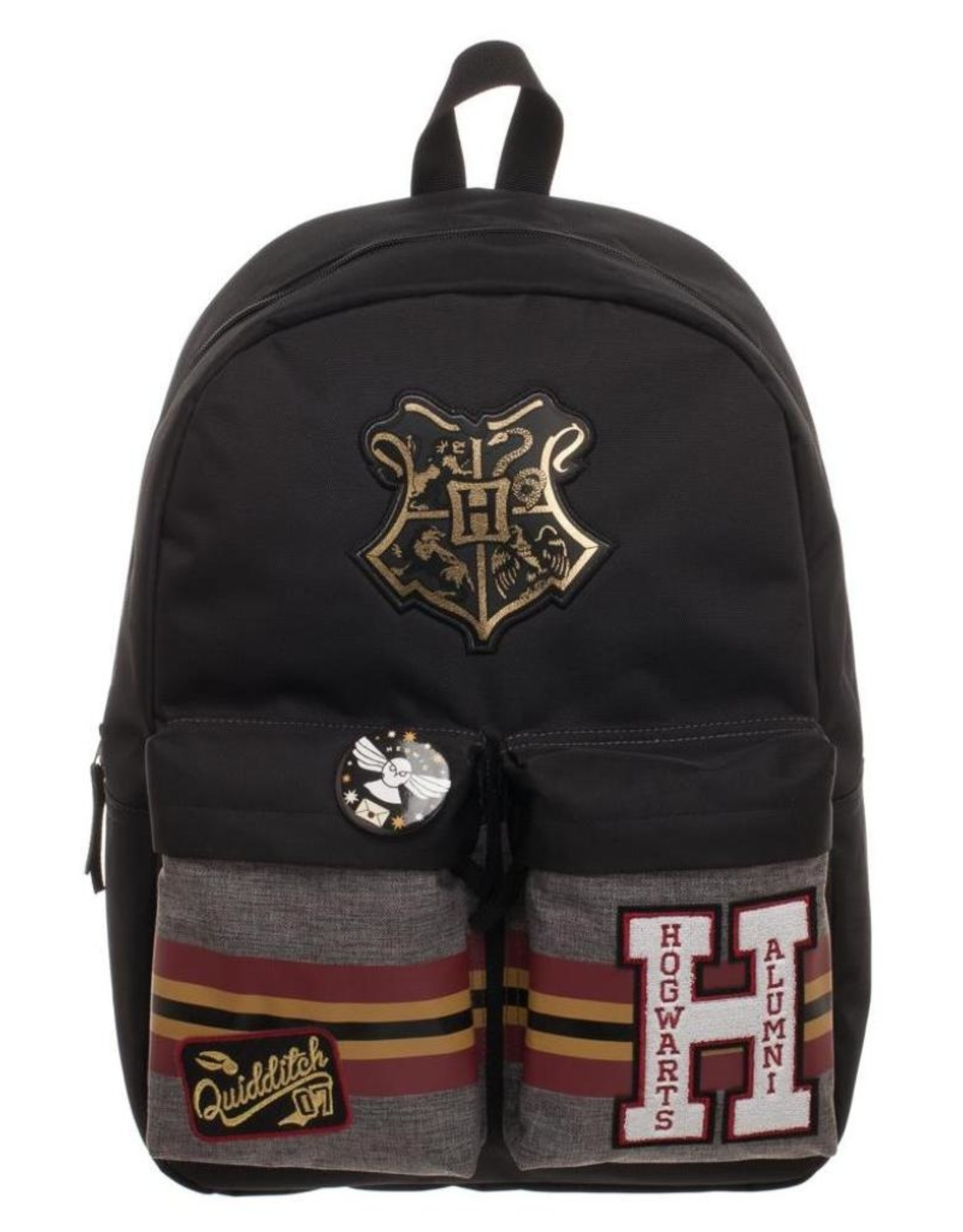 Bioworld Fantasy bags and wallets - Harry Potter Patches Backpack with Pin Badge Hogwarts