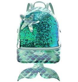 De Kleine Zeemeermin Oh my Pop! Backpack Wow-Siren with Mermaid tail