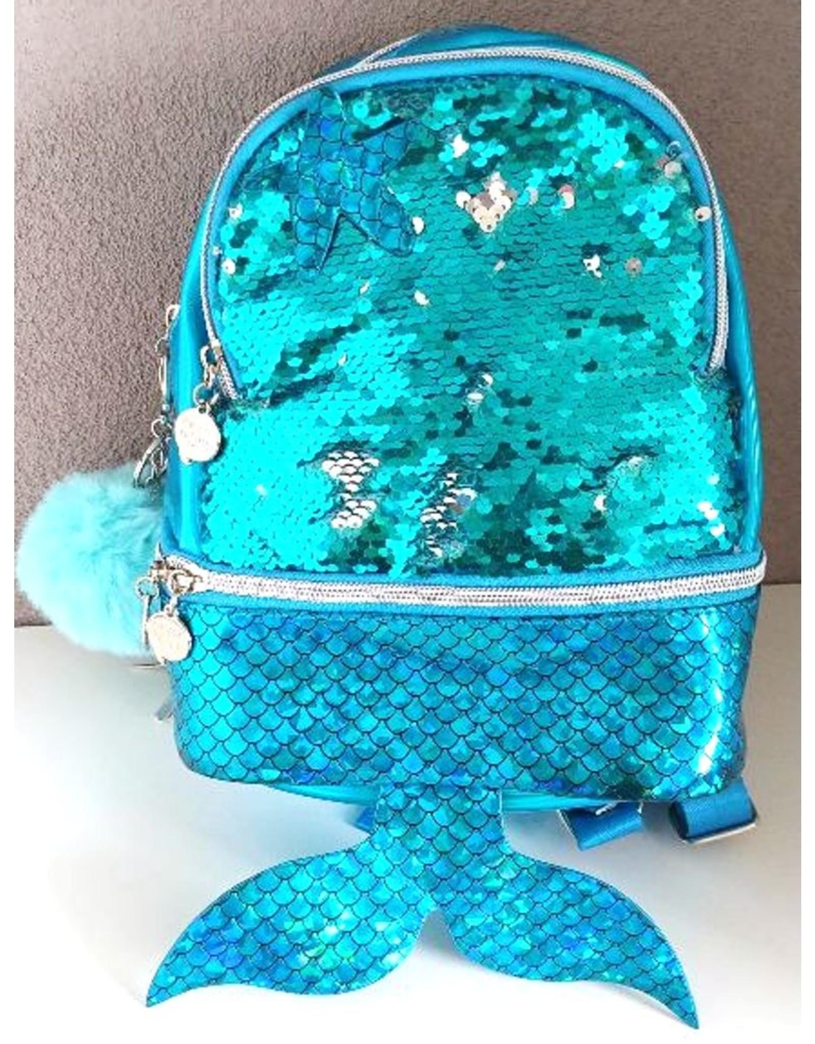 De Kleine Zeemeermin Fantasy tassen - Oh my Pop! Rugzak Wow-Siren met zeemeermin staart