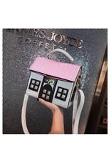 Fantasy tassen - Fantasy tas Huis wit