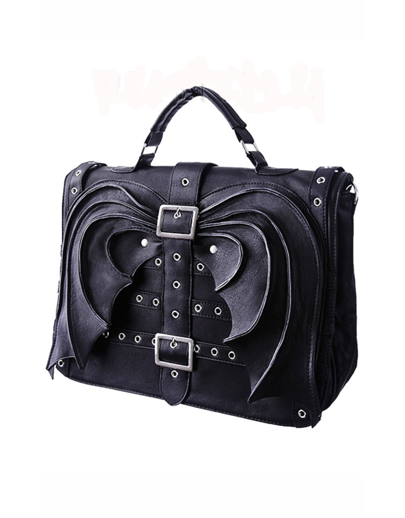 Restyle Gothic bags Steampunk bags - Restyle Gothic satchel Bat Wings