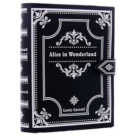 Restyle Alice in Wonderland Boek-tas Restyle (zwart)
