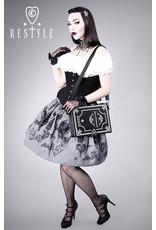 Restyle Gothic tassen Steampunk tassen -  Alice in Wonderland Zwart Boek-tas Restyle (zwart)
