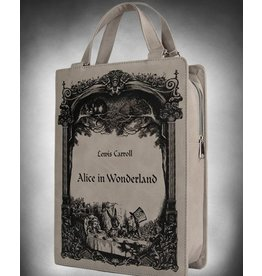 Restyle Alice in Wonderland Book-bag Restyle (grey)
