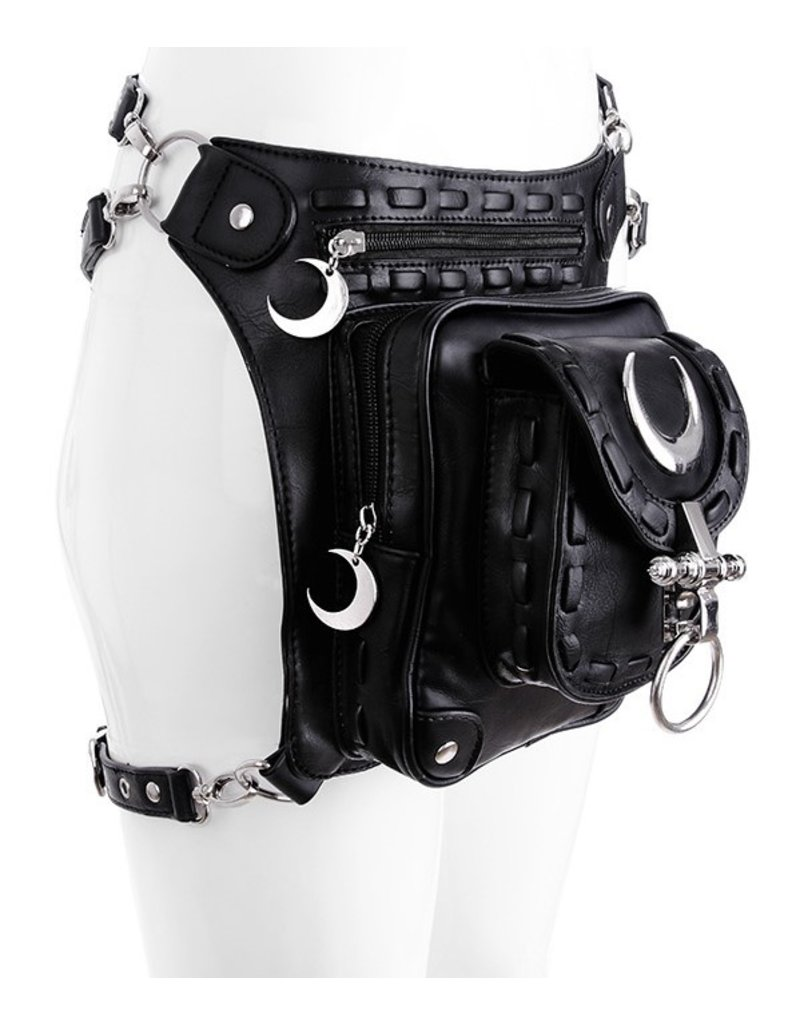 Restyle Gothic bags Steampunk bags - Restyle hip bag Lunar Holster